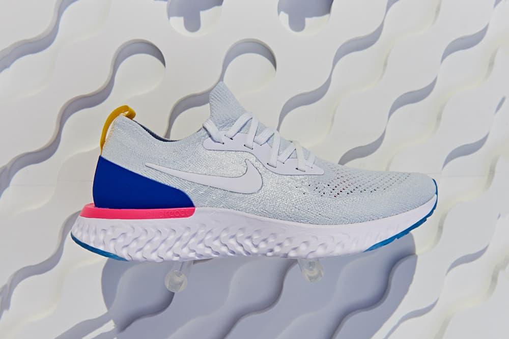 Nike Epic React Flyknit White