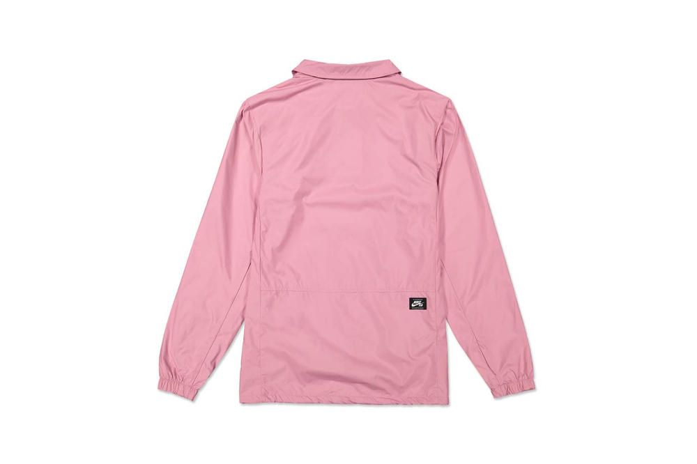 Nike SB Shield Coaches Jacket Elemental Pink