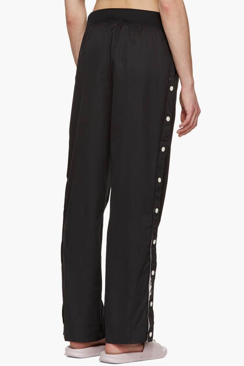 Nike Snap Button Track Pants Black
