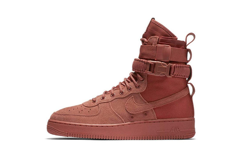 d59be9d1b Shop Nike s SF Air Force 1 in Pink Dusty Peach