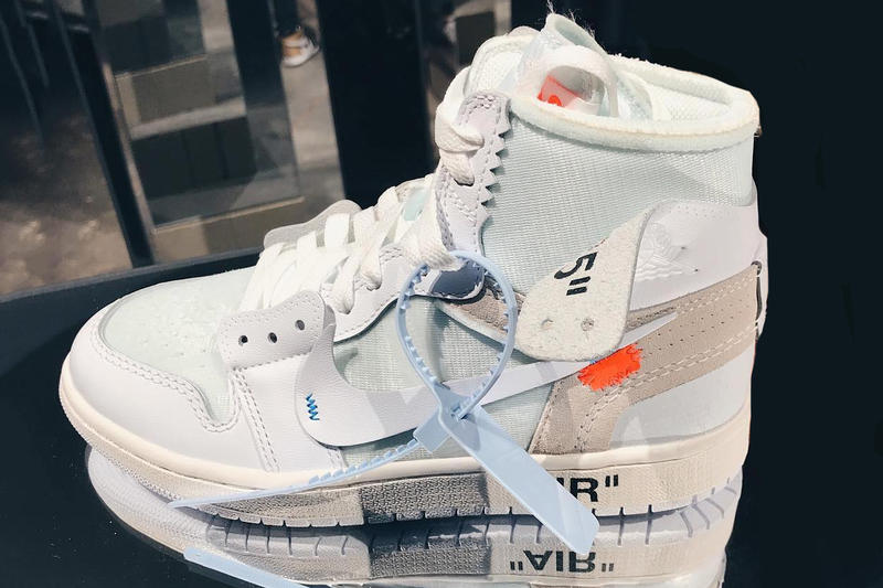 Off-White™ x Air Jordan 1 Womens Release White New Iteration Virgil Abloh