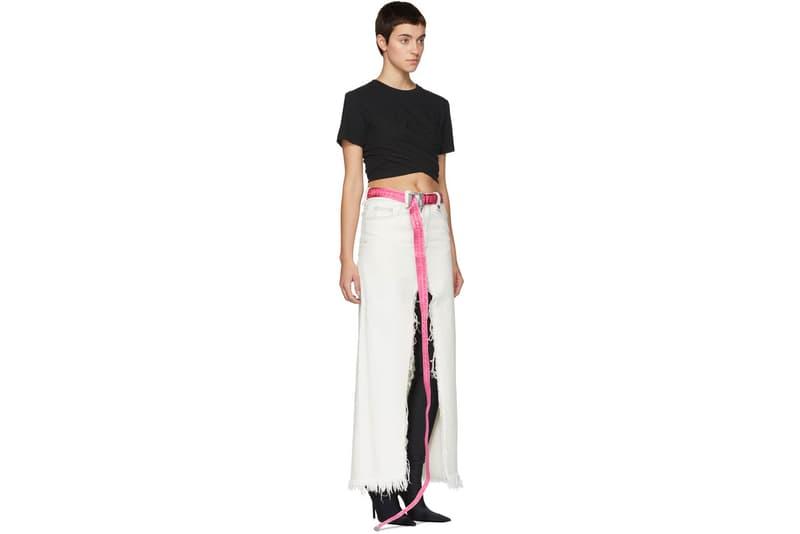 Off-White Industrial Belt Fuchsia Pink