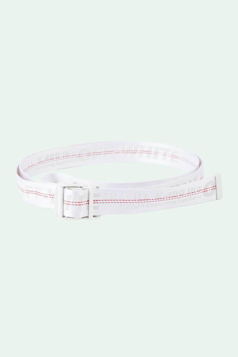 Off-White Industrial Belt White