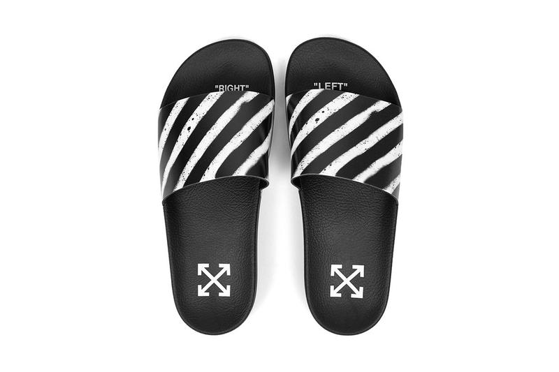 Off-White™ Virgil Abloh Flyknit Slides Slippers Shoes Fashion Lounging Summer Fit Look Outfit