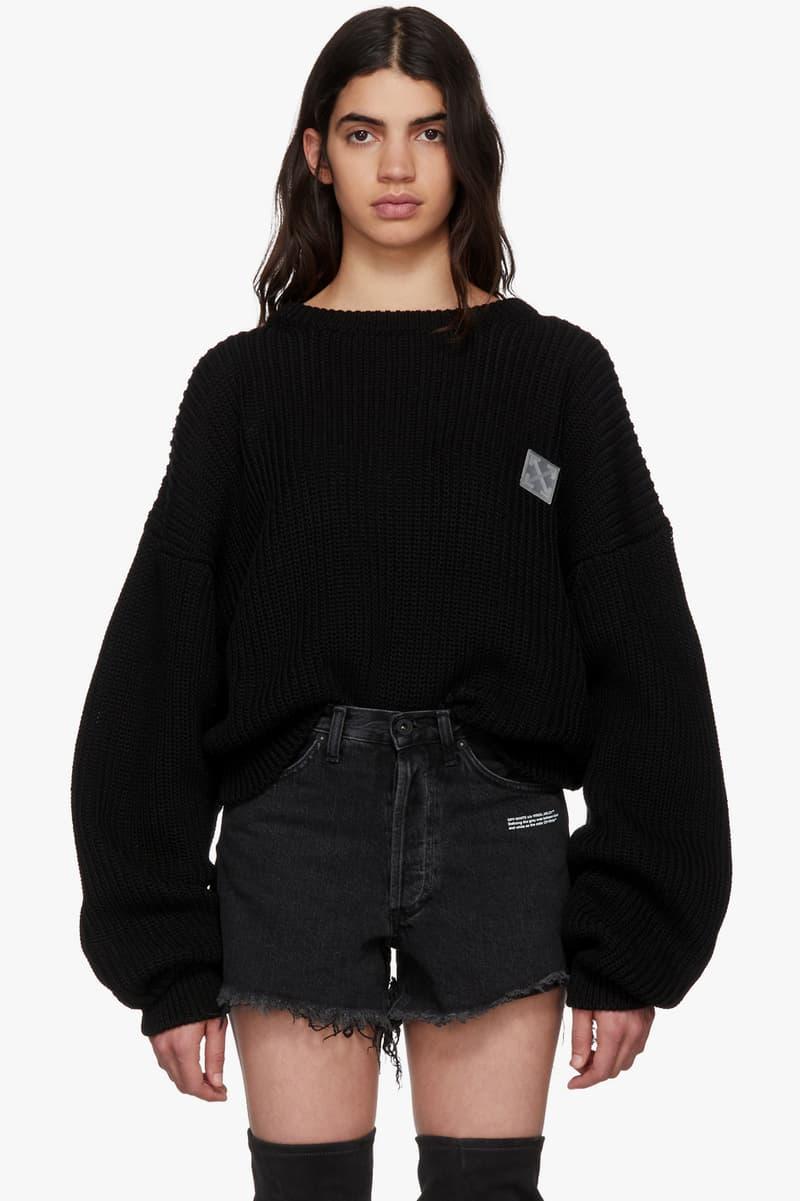 Off-White Virgil Abloh Shop New Season Champion Collaboration Sweatshirts Sweatpants Print SSENSE