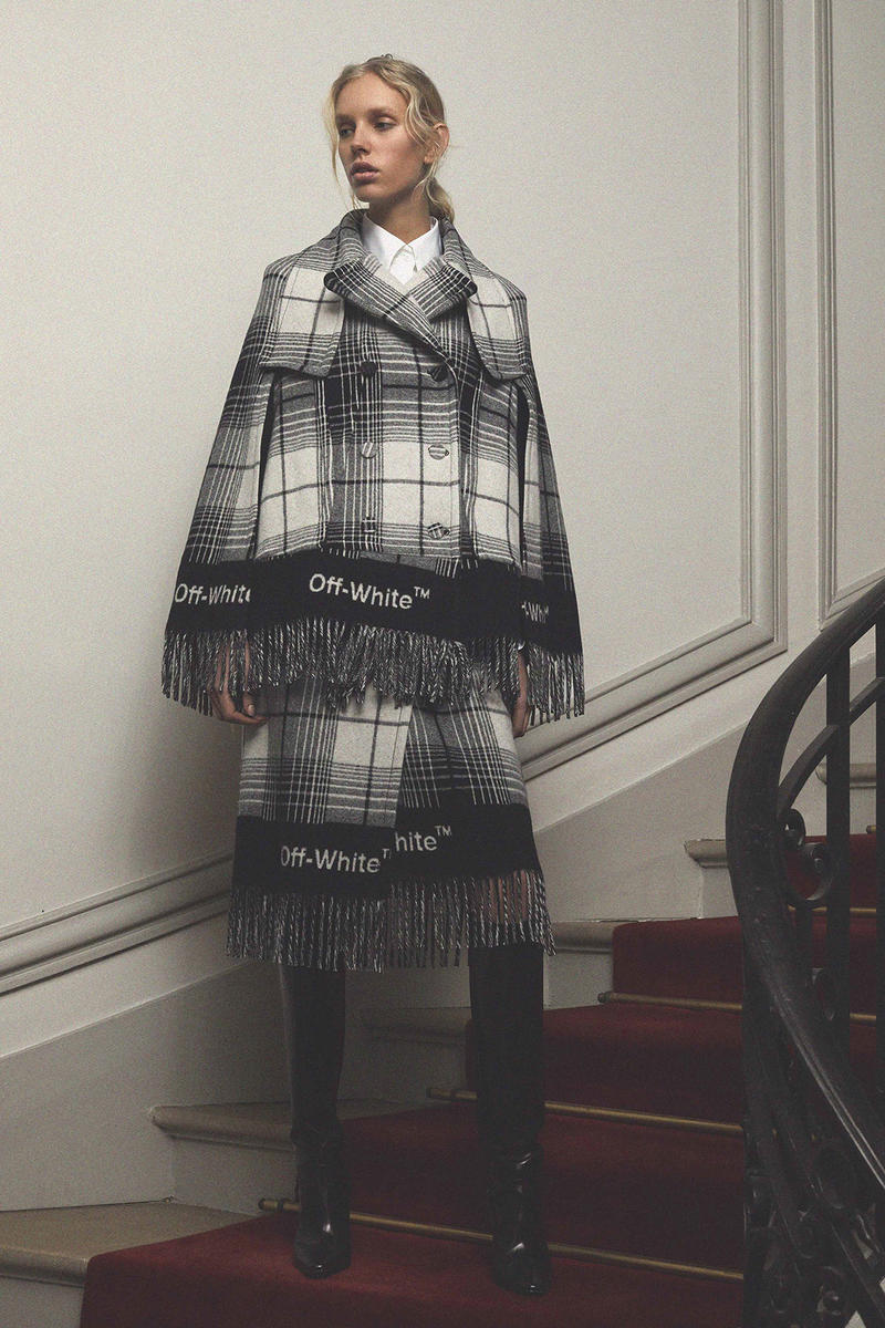 Off White Virgil Abloh Pre Fall 2018 Collection Cape