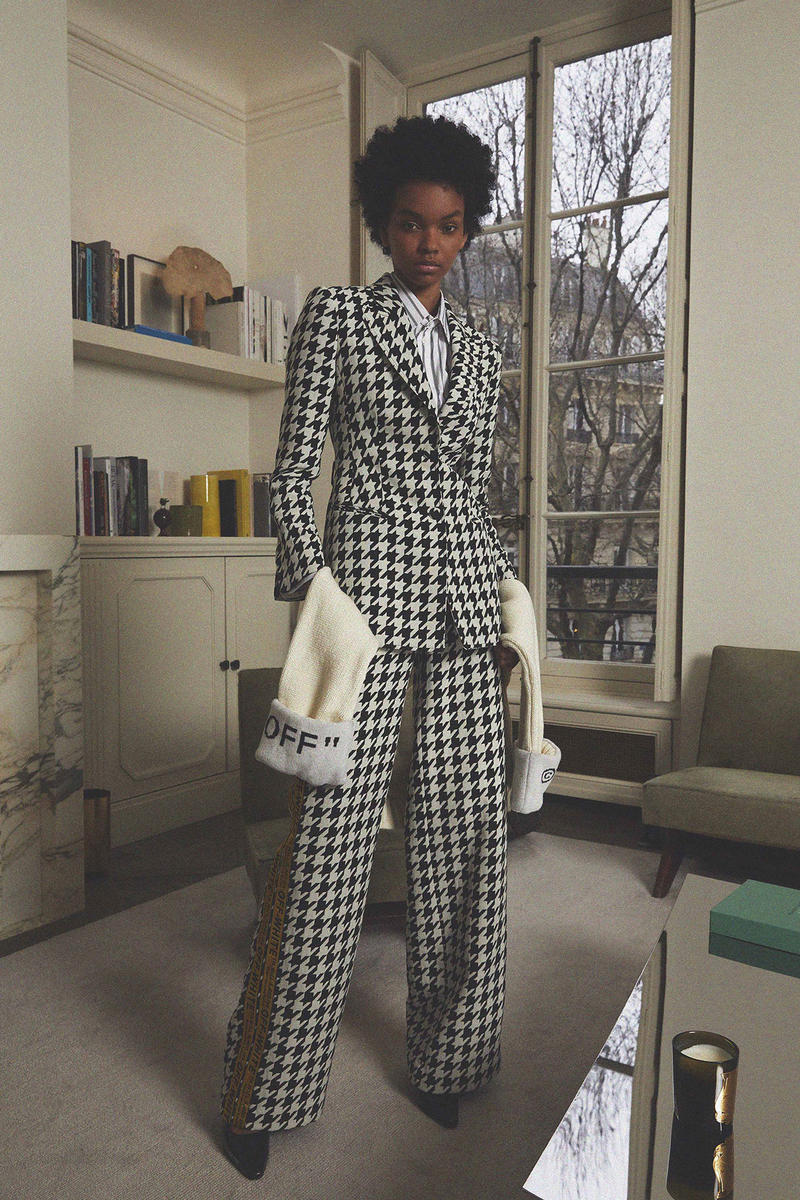 Off White Virgil Abloh Pre Fall 2018 Collection Houndstooth Suit