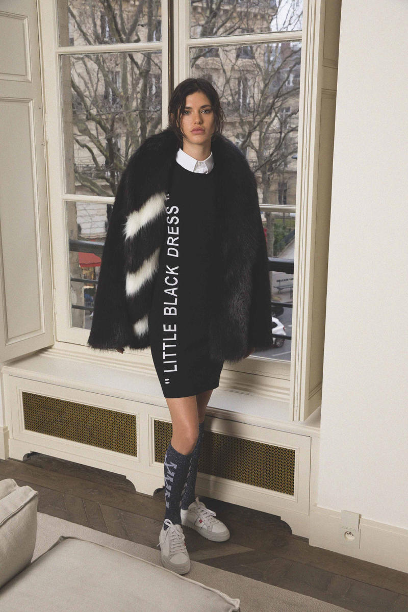 Off White Virgil Abloh Pre Fall 2018 Collection Little Black Dress