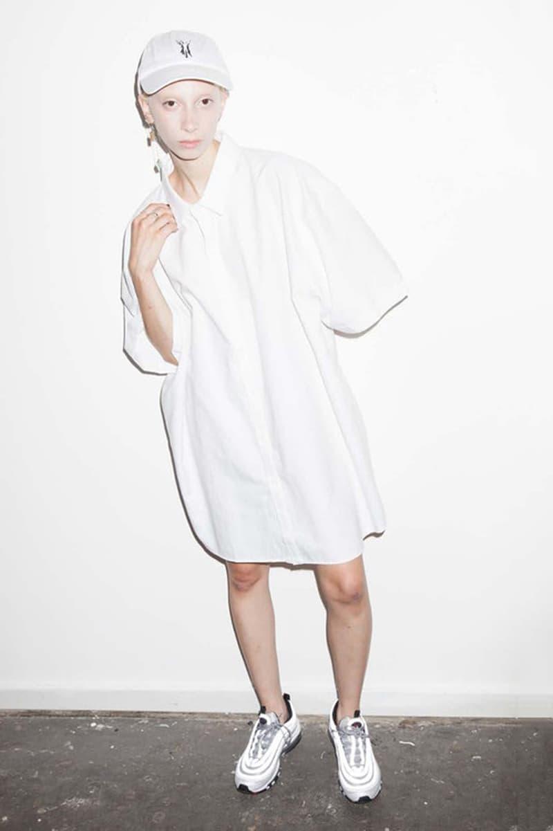 P.A.M. Women's Spring/Summer 2018 Lookbook White T-Shirt Dress