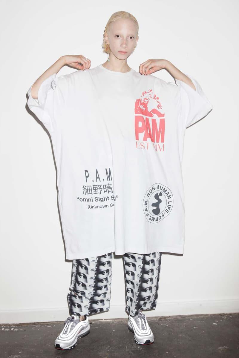 P.A.M. Women's Spring/Summer 2018 Lookbook Oversized White T-Shirt