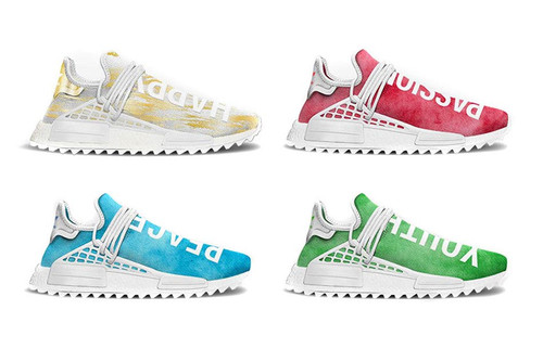 c6d273d4de63fa Your First Look at Pharrell x adidas  New China Exclusive Hu NMD Trail  Colorways