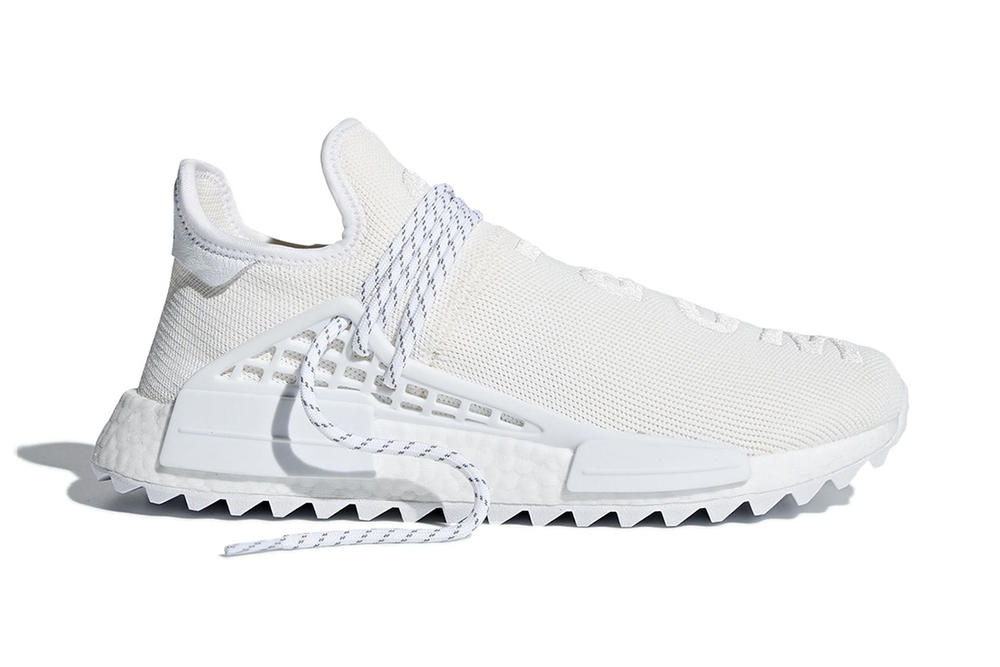 345759ade adidas originals pharrell williams hu nmd trail holi pack cream white  release date info where to