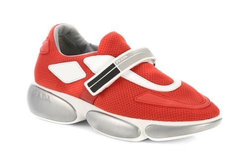 best service b034d f3b7a Pradas Cloudbust Sneaker Releases in Four New Colorways