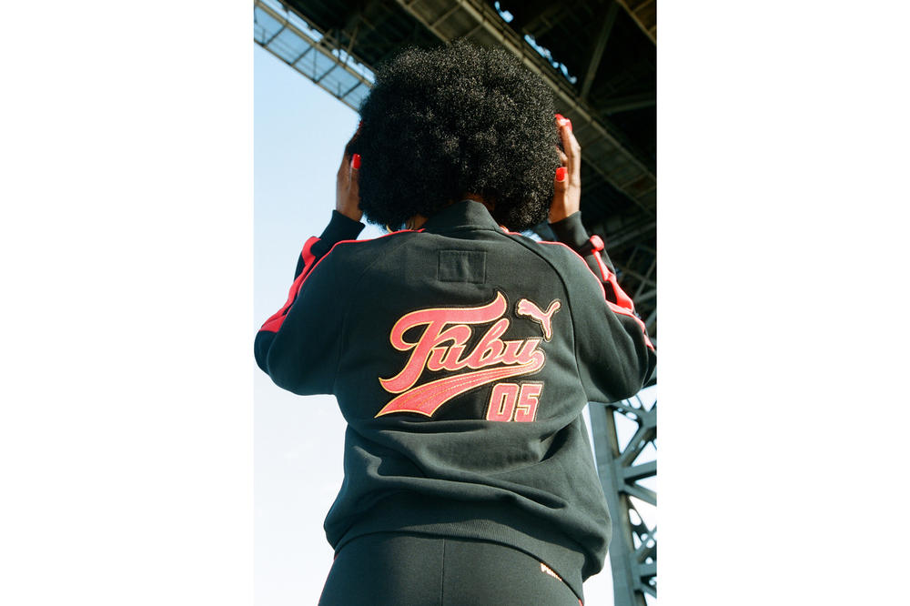 PUMA x FUBU Capsule Collection Track Jacket
