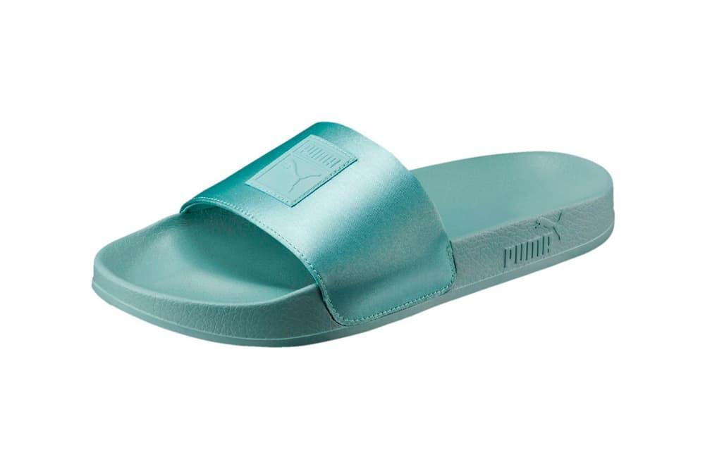 PUMA Leadcat Satin Slides Pearl