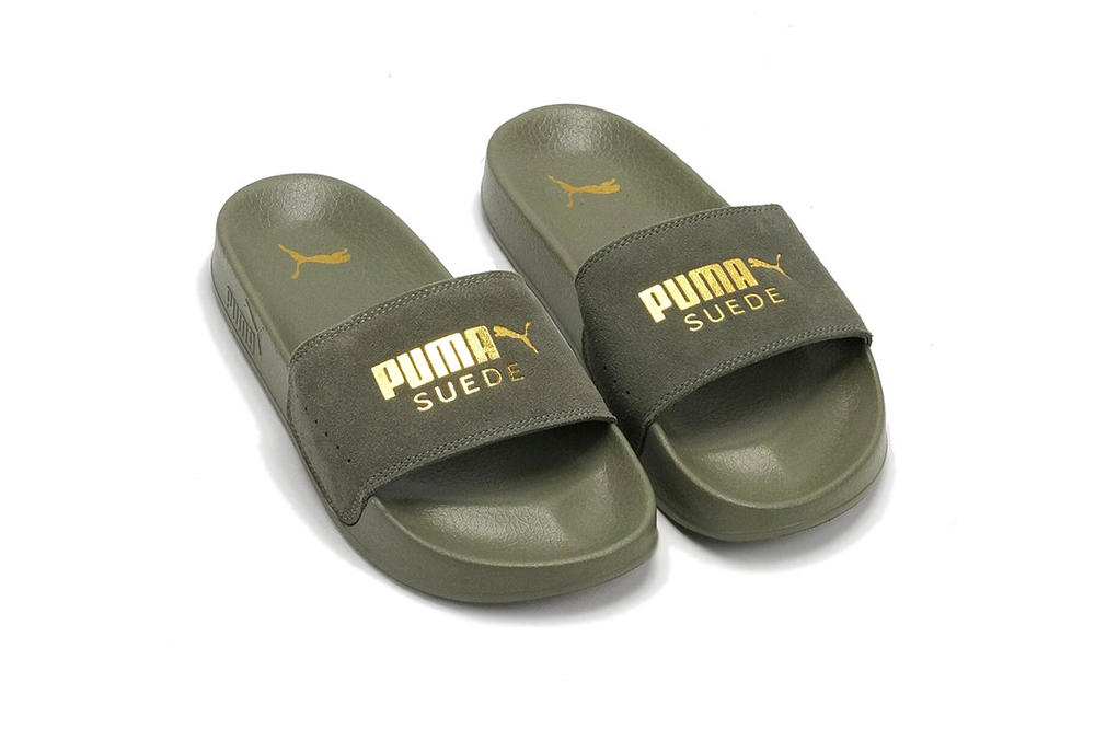 best service f2594 75046 Puma Releases Leadcat Suede Slides in 3 Colors | HYPEBAE