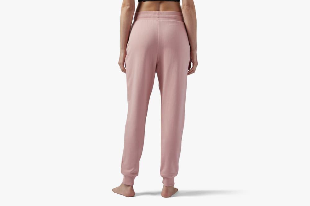 Reebok Pink French Terry Sweatpants Cozy Loungewear Trousers Joggers Rose Pastel Streetwear