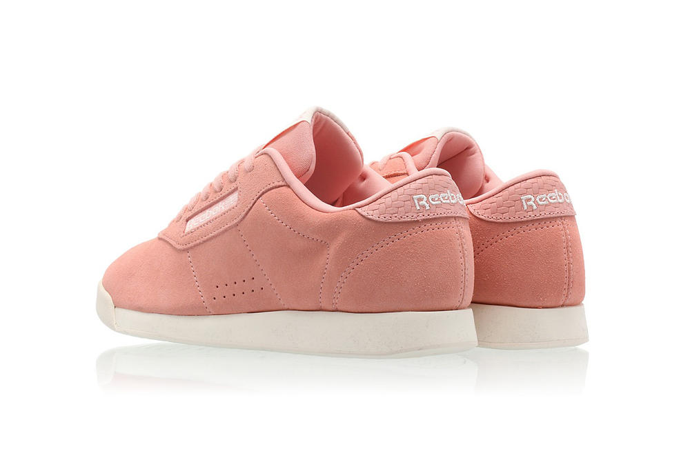 f3abbe12c9f48 reebok princes sweet pink suede woven