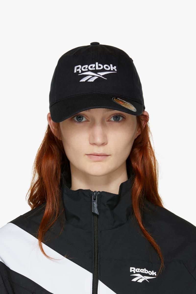 Reebok Classic Logo Cap Blue Black Navy Retro Sporty Budget Friendly Accessory
