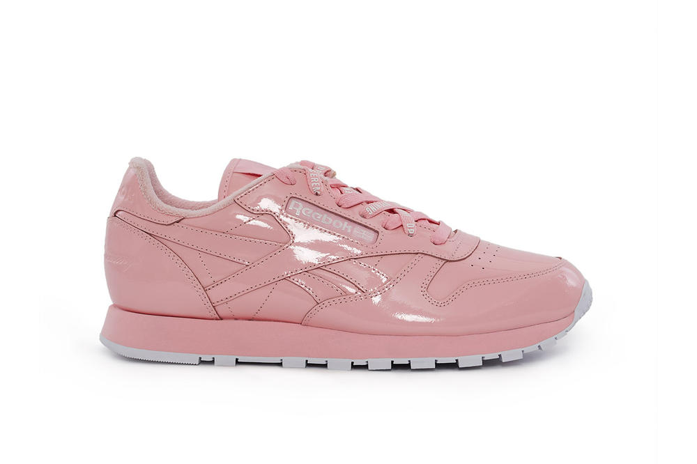 Reebok Opening Ceremony Sneaker Collaboration Patent Leather Glossy Reebok Classic Leather Opening Ceremony Workout Ex-O-Fit