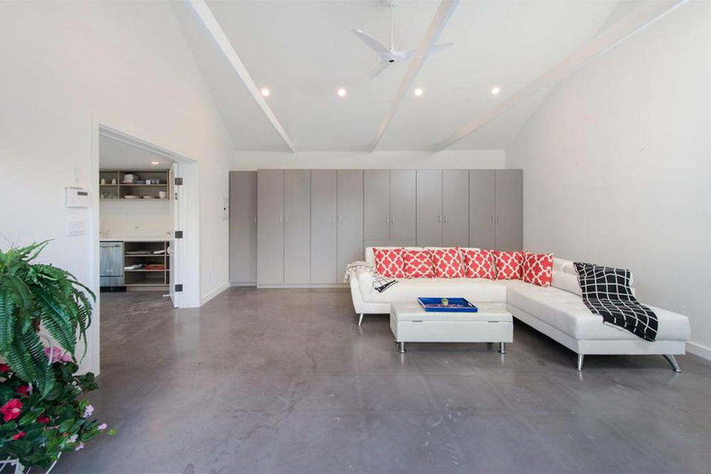 Rihanna house home interior west hollywood rent stay