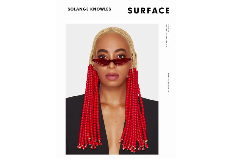Solange Knowles Surface Magazine February Issue Cover Braids George Keburia A Seat at The Table