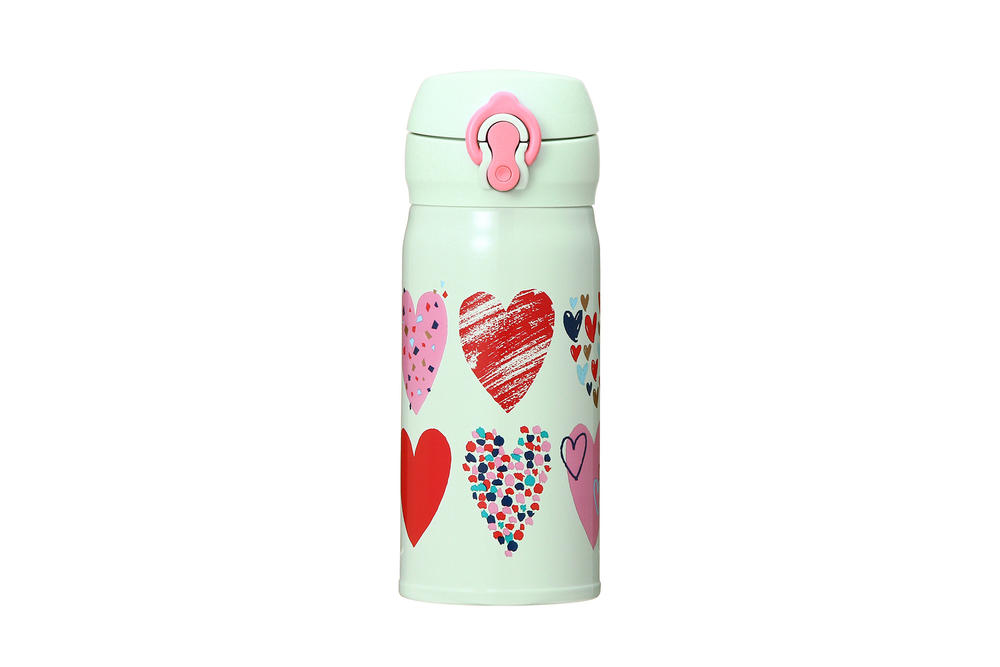 Starbucks Japan Valentine's Day 2018 Mint Green Hearts Tumbler