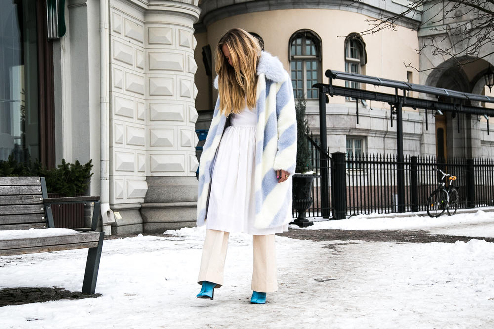 Stockholm Fashion Week street style photography streetstyle streetsnaps gucci acne studios manhattan chunky dad sneakers eytys angel off white Balenciaga Triple S