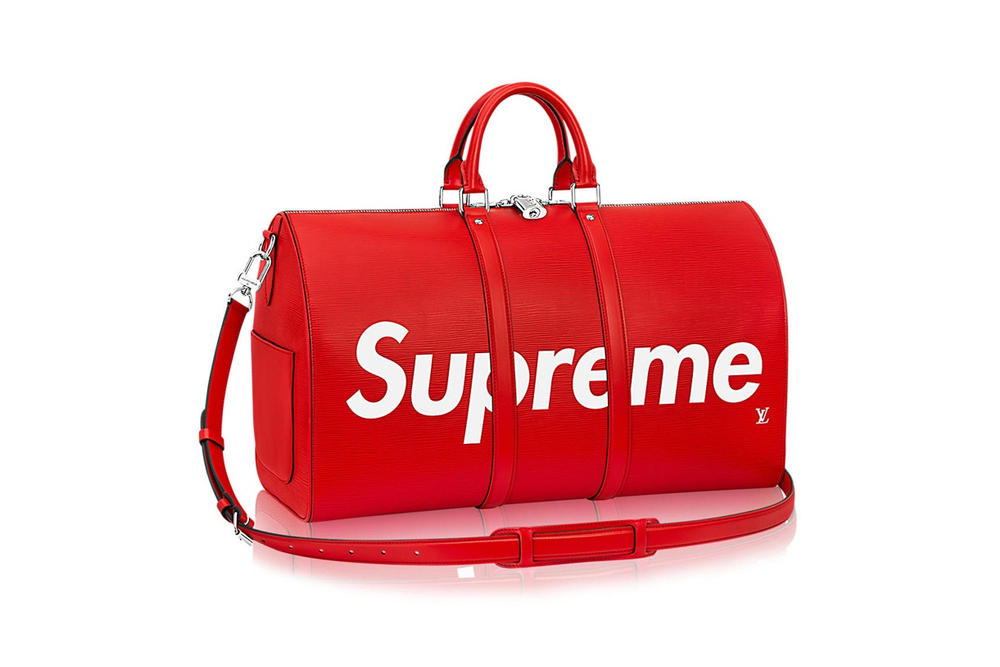 Supreme Louis Vuitton 45 Duffel Bag