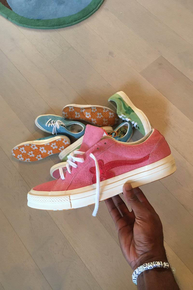 Tyler, The Creator Converse GOLF Le FLEUR One Star Pink