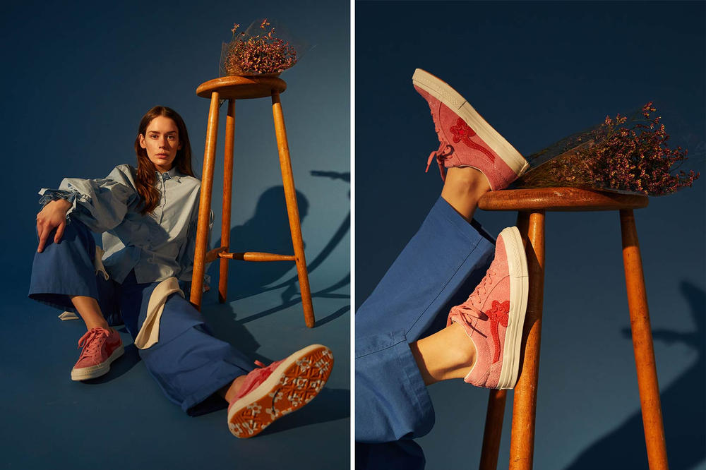 Tyler, The Creator Converse GOLF Le FLEUR* One Star Collection Anna of the North NAKED Editorial