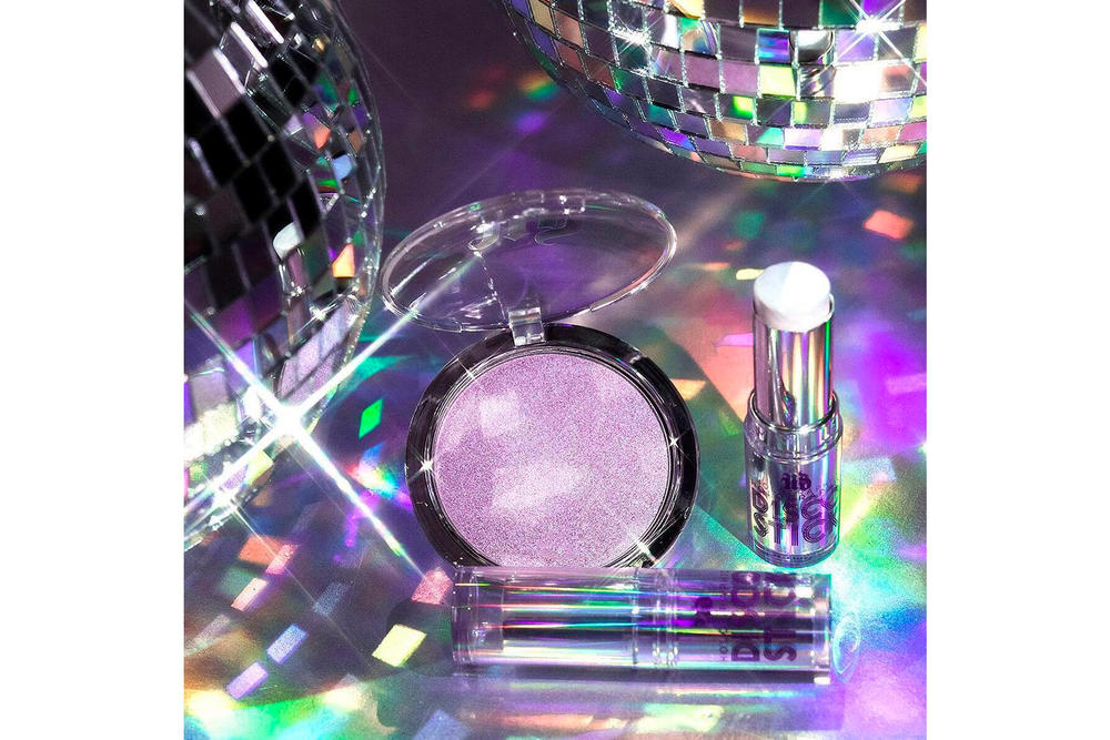 Urban Decay Holographic Disco Highlighter Stick Queen Highlight Powder Purple Ultra Violet Unicorn Glow