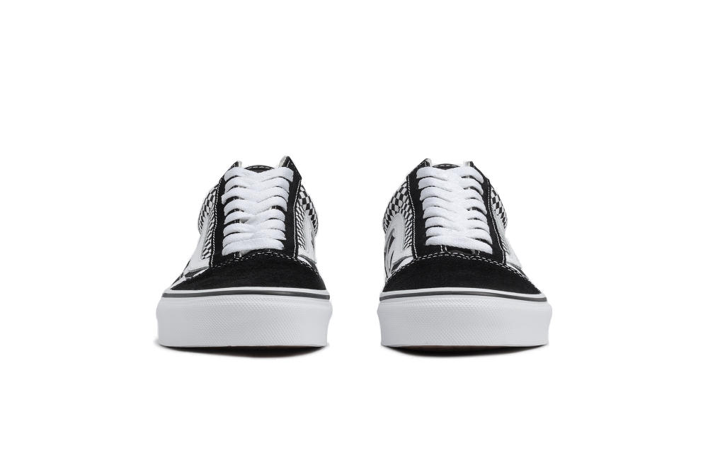 vans old skool sneaker mix checkerboard checker double urban outfitters