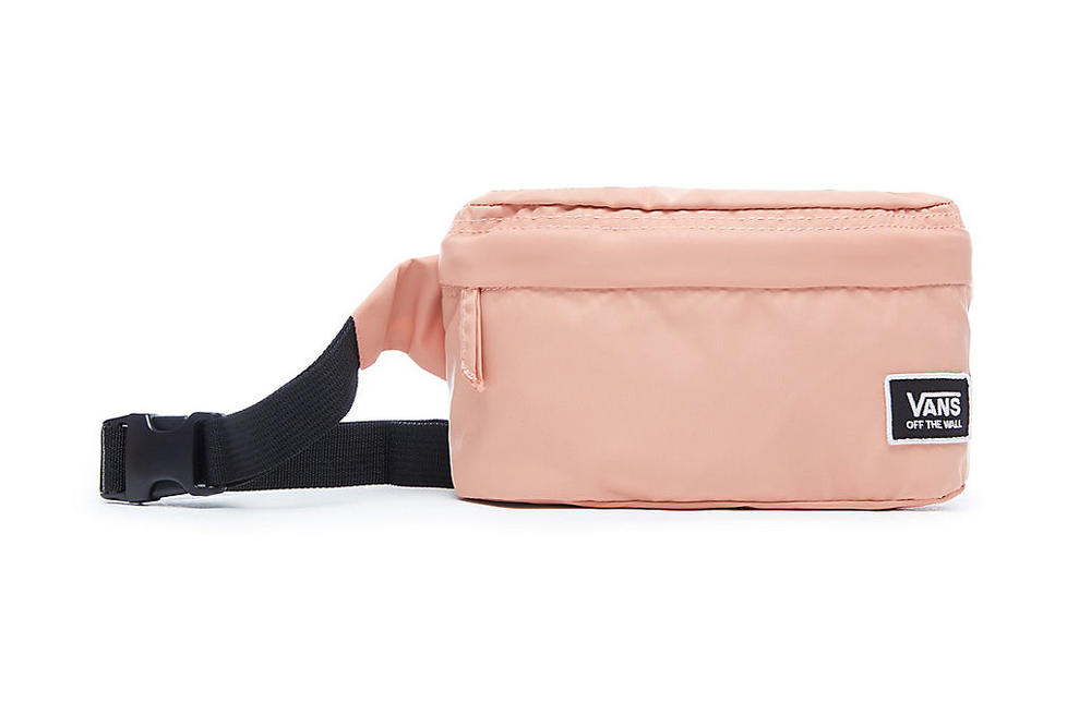 Vans burma fanny pack bum bag belt pale pastel light pink muted clay festival