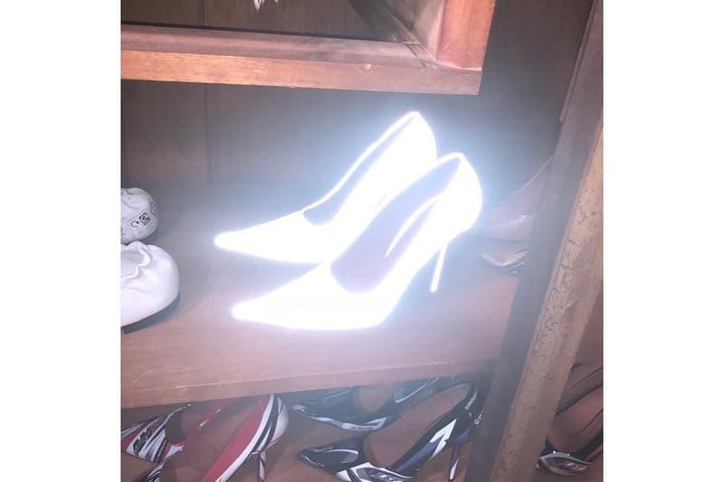 vetements demna gvasalia 3m rave stiletto heels