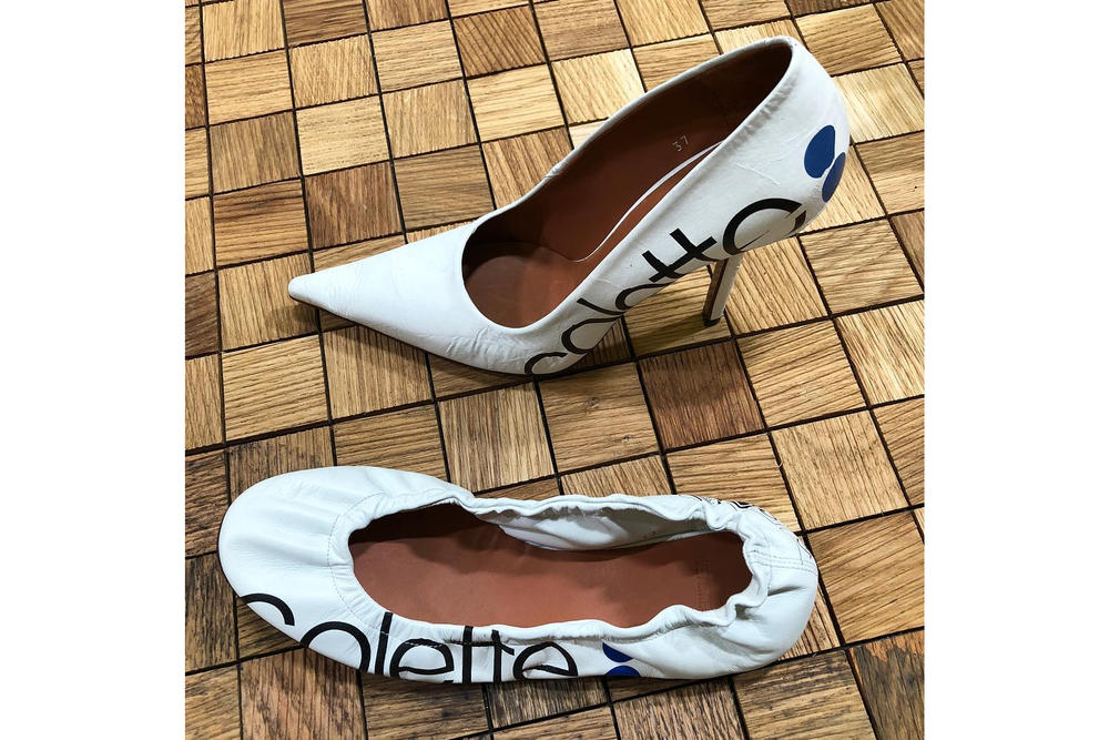 Demna Gvasalia Homage colette Vetements First  Flat Shoe