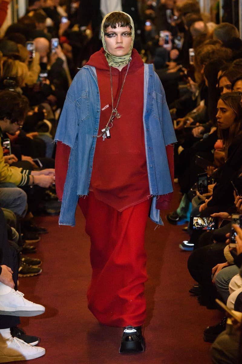 Vetements Fall Winter 2018 Collection Paris Fashion Week Maison Martin Margiela Streetwear Style Chic Layering