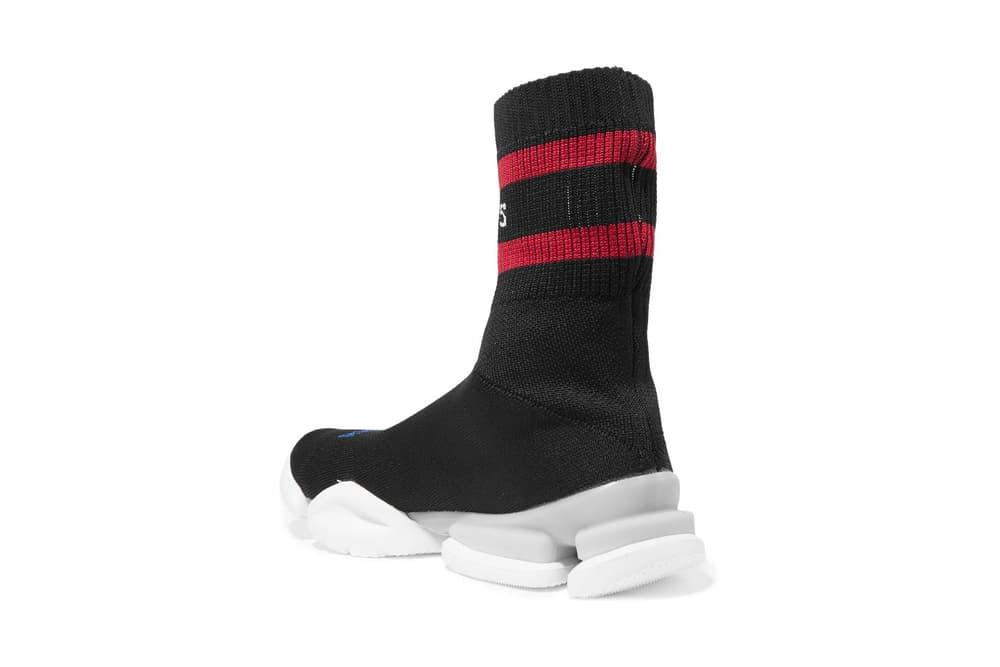 Vetements Reebok Stretch Knit Sock Runner Black