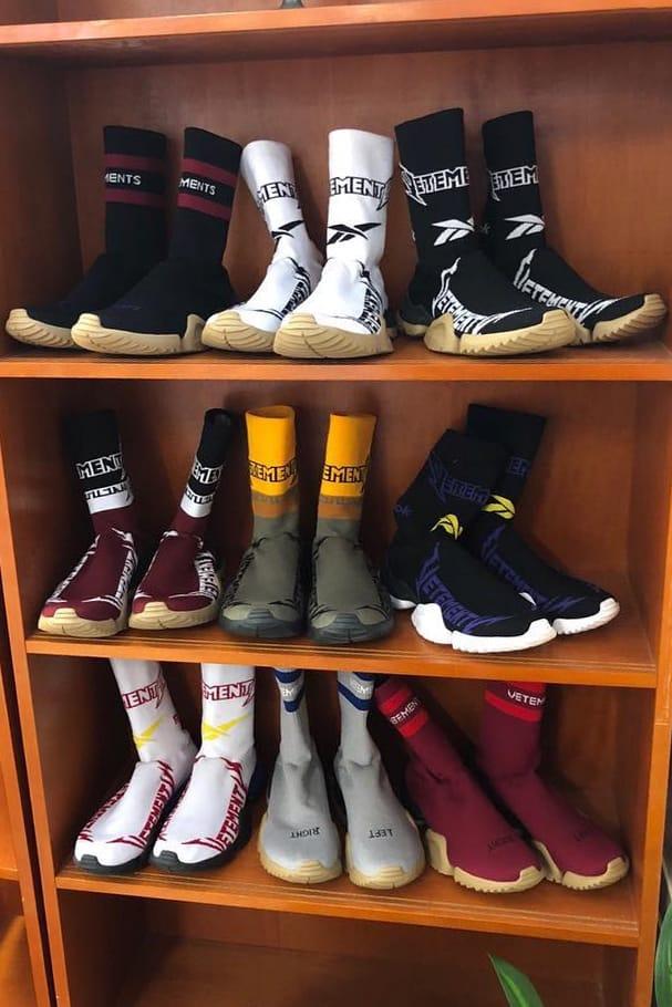 Vetements Fall/Winter 2019 Preview Sock