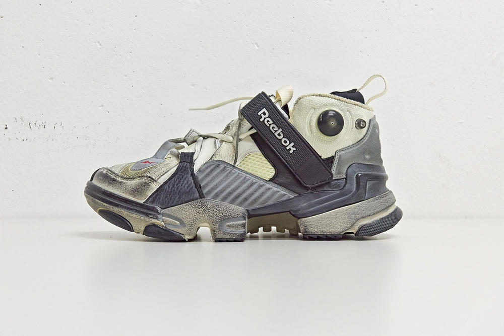 6718f329baa03f Vetements x Reebok Genetically Modified Pump Sneaker Instapump Fury 10  Corso Como Seoul exclusive where to