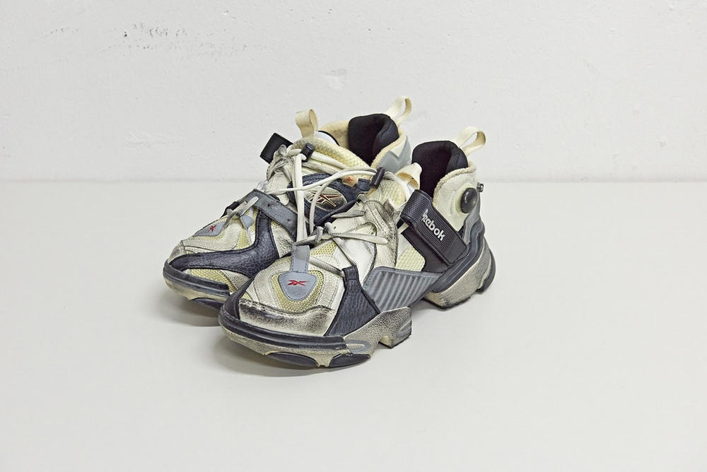 Vetements x Reebok Genetically Modified Pump Sneaker Instapump Fury 10 Corso Como Seoul exclusive where to buy