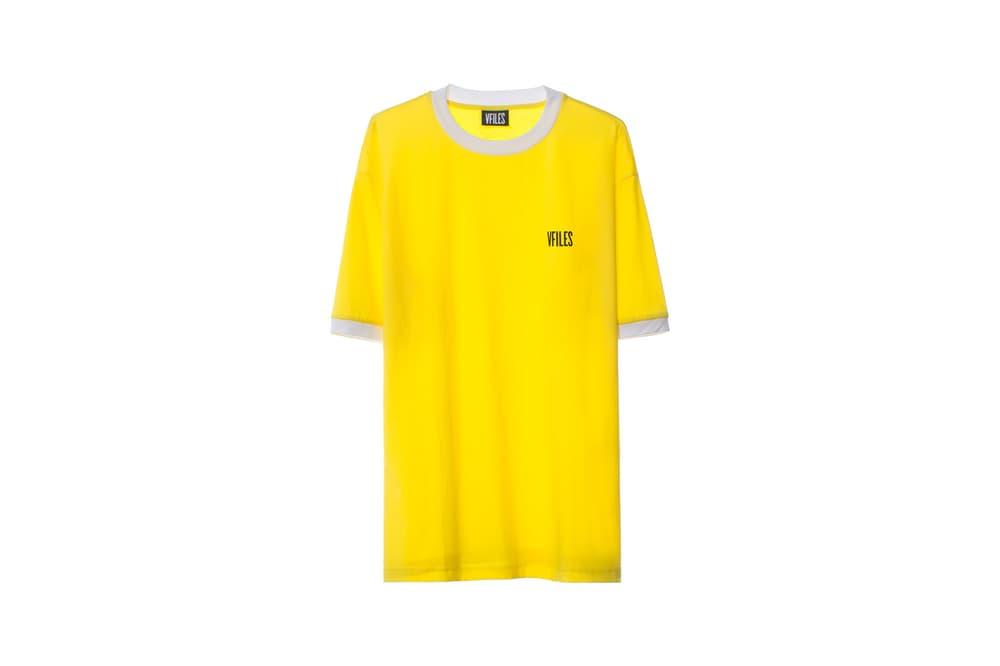 VFILES ASOS Capsule Yellow T-Shirt
