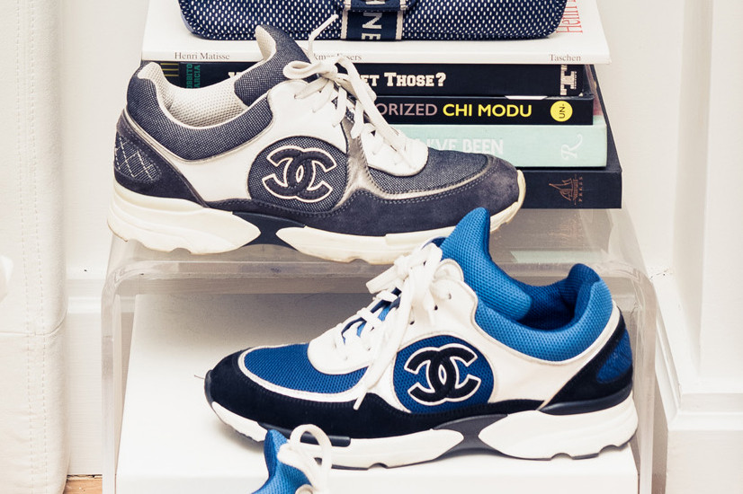 bca8eda199dc Where Can You Buy Vintage Chanel Sneakers