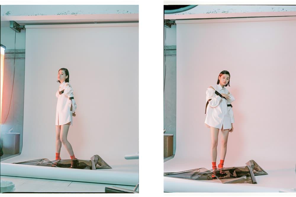 Sacai Brashy Studios Calvin Klein 205W39NYC Theory Shushu Tong plastic vinyl editorial