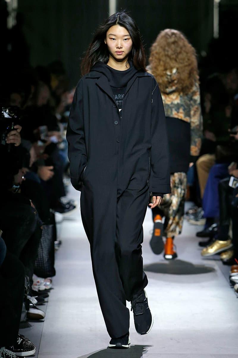 Y-3 Fall Winter 2018 Collection Paris Fashion Week Men's