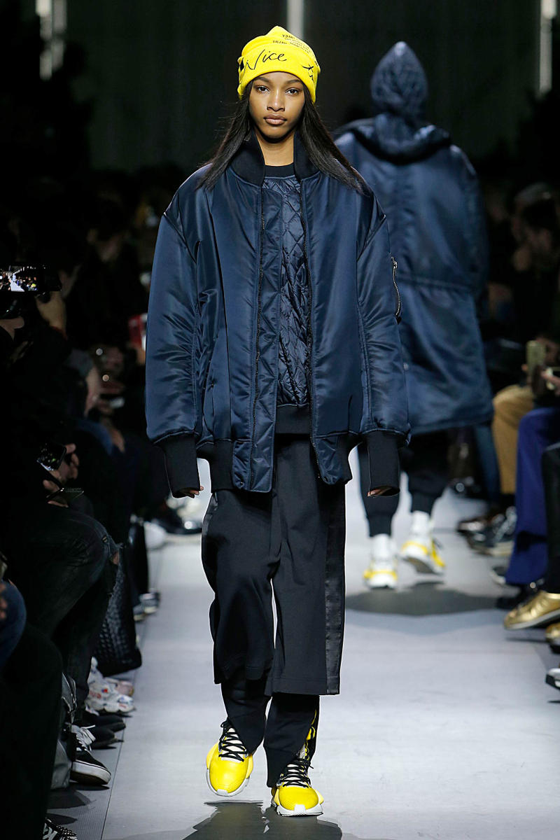 137fc4a5ebc09 Y-3 Fall Winter 2018 Collection Paris Fashion Week Men s