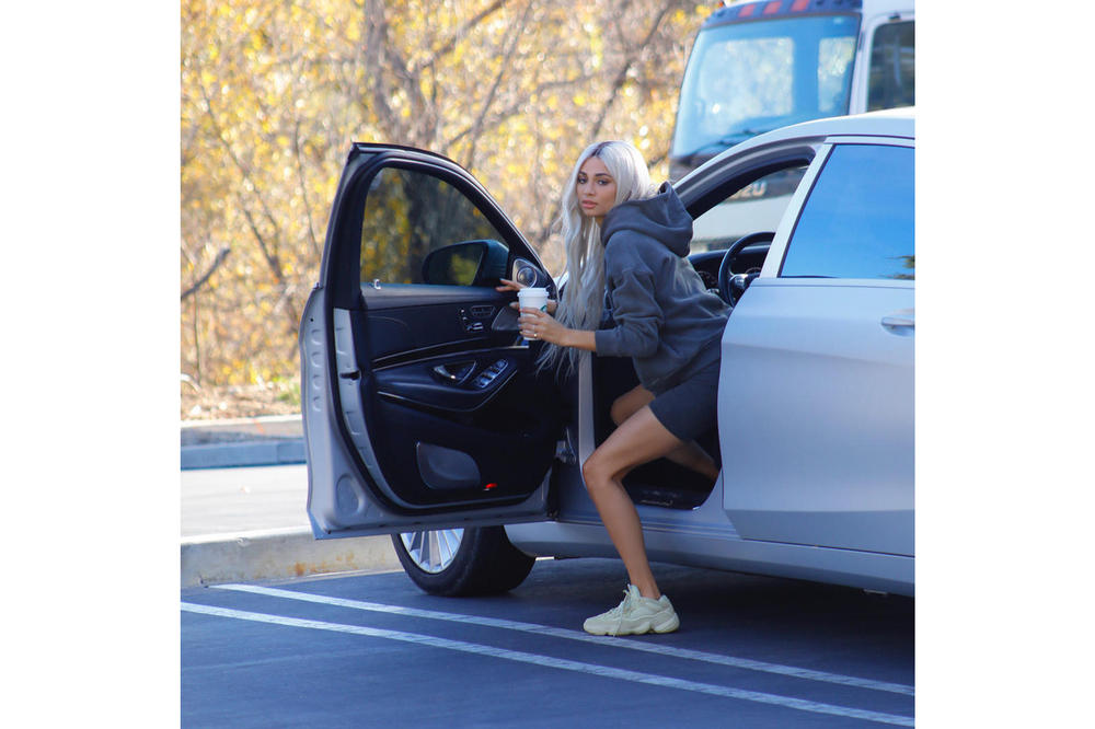 Yeezy Season 6 Instagram Campaign Kristen Noel Crawley Hoodie Shorts Desert Rat 500
