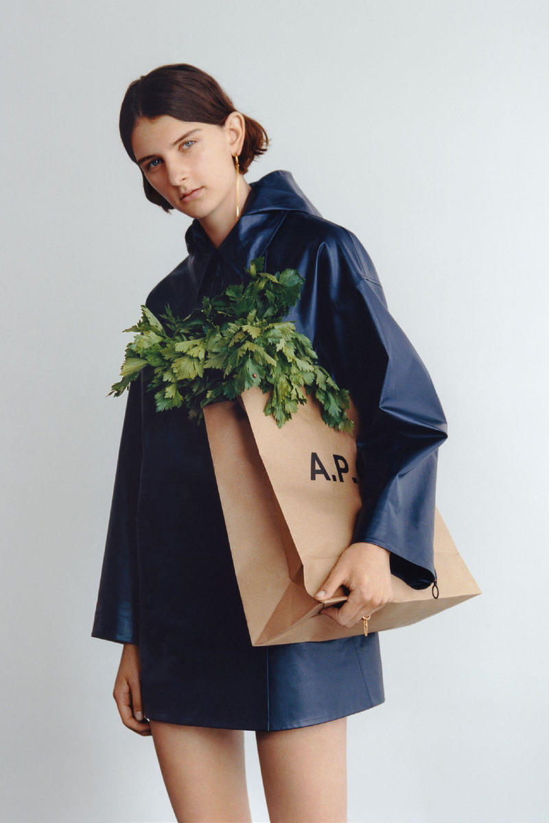A.P.C. Spring 2018 Lookbook Collection Minimal Aesthetic Basic Staple Pieces