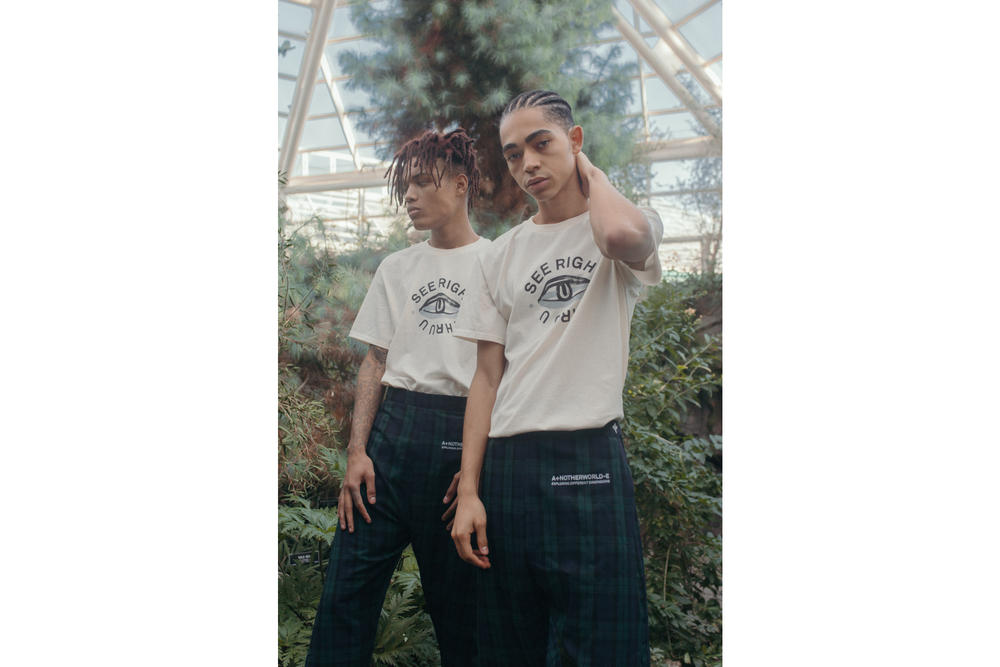 Another Worlde Genderless Streetwear Label Lookbook Collection Fashion Street Style