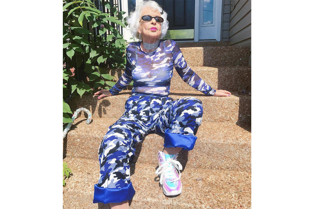 Instagram coolest senior citizens style old elderly people fashion icons baddie winkle moon lin lance dinneranddance accidental icon lili hayes supreme thrasher streetwear